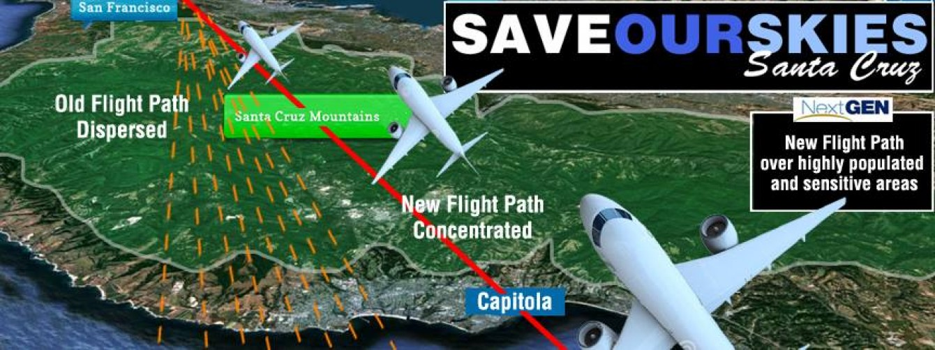 NoiseGen.Info – Save Our Skies – Santa Cruz CA Effort